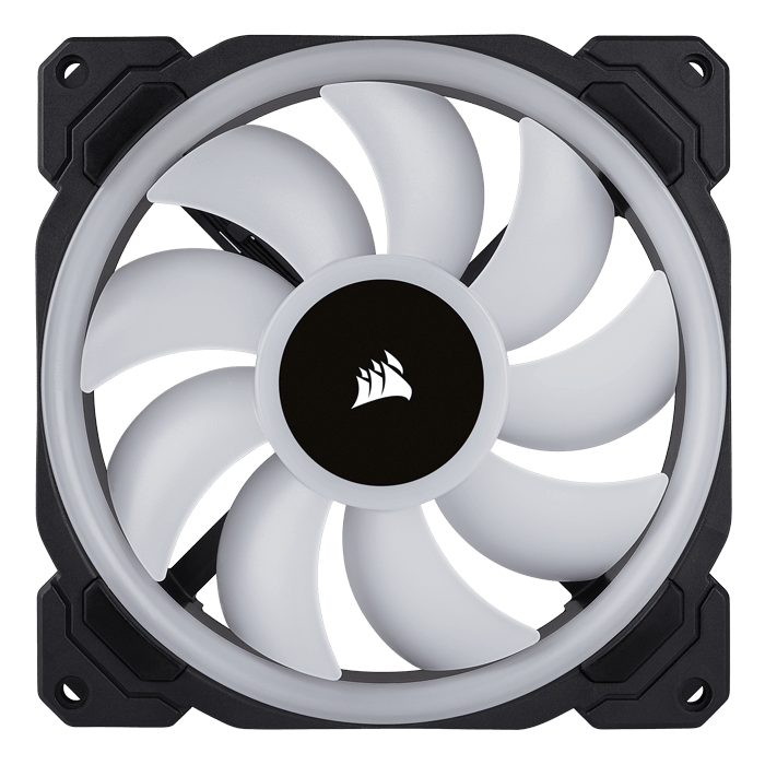 LL140 RGB 140mm, 1300 RPM, 51.5 CFM, 25 dBA, Cooling Fan