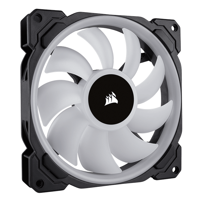 LL140 RGB 2 x 140mm, w/ Lighting Node PRO, 1300 RPM, 51.5 CFM, 25 dBA, Cooling Fan