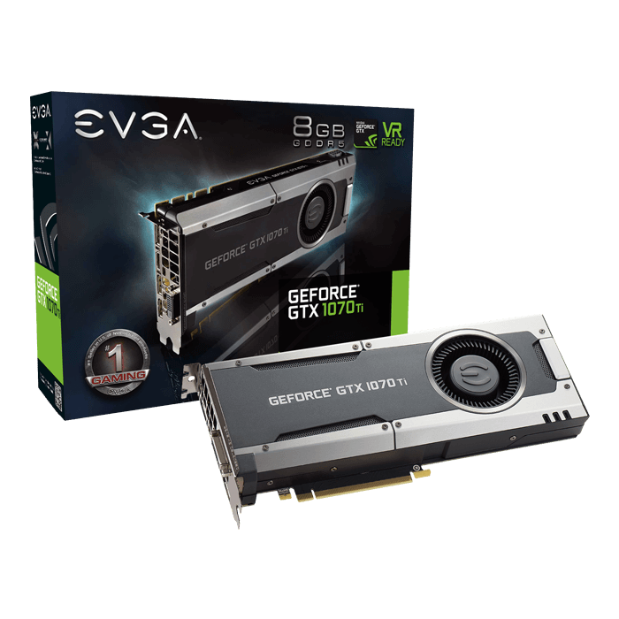 GeForce GTX 1070 Ti GAMING, 1607 - 1683MHz, 8GB GDDR5, Graphics Card