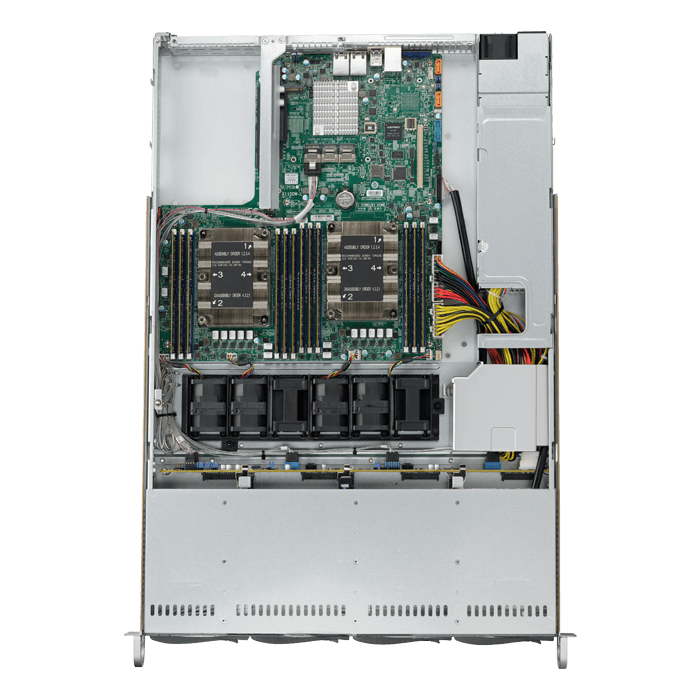 Supermicro System SYS-6019P-WT 1U Xeon Socket 3647 1.5TB DDR4 4x3.5Hot-swap SATA3/SAS3 600W Brown Box