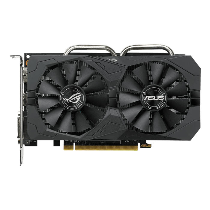 Radeon RX 560 ROG-STRIX-RX560-O4G-EVO-GAMING, 1149 - 1197MHz, 4GB GDDR5, Graphics Card