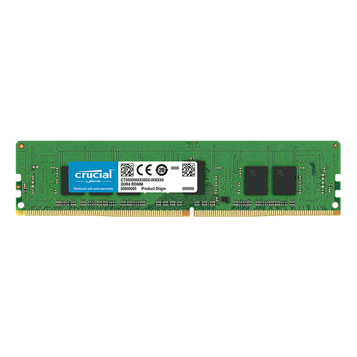 4GB Single-Rank, DDR4 2666MHz, CL19, ECC Unbuffered Memory