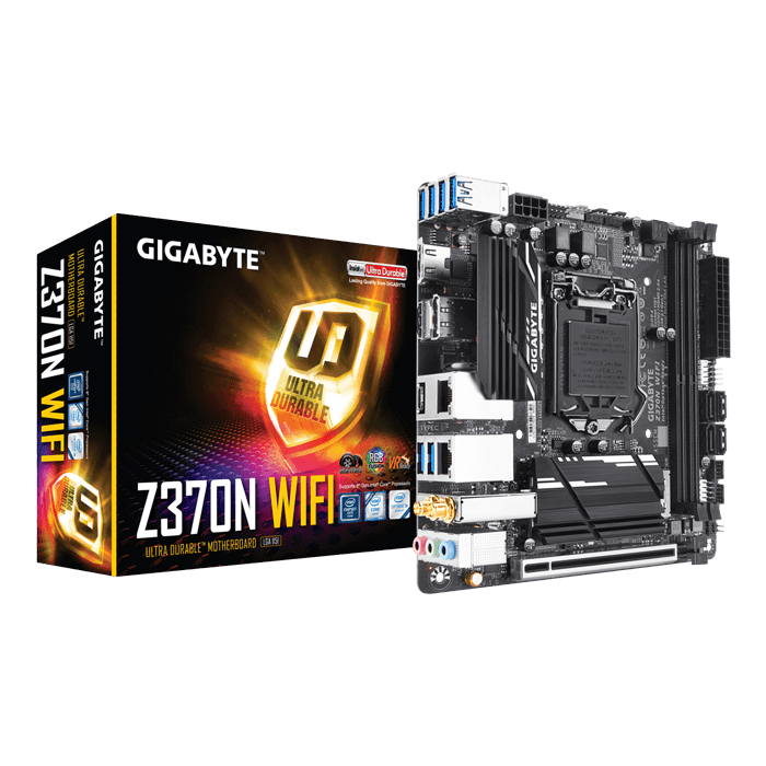 Z370N WIFI, Intel Z370 Chipset, LGA 1151, HDMI, Mini-ITX Motherboard