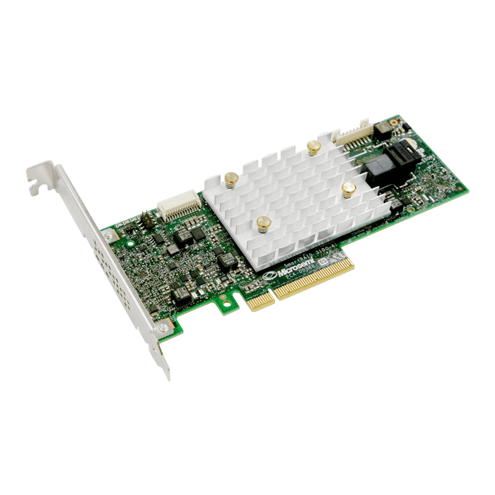 Adaptec SmartRAID 3151-4i, SAS 12Gb/s, 4-Port, PCIe 3.0 x8, Controller with 1GB Cache