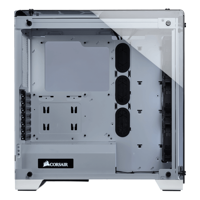 Crystal Series 570X RGB Tempered Glass, No PSU, ATX, White, Mid Tower Case