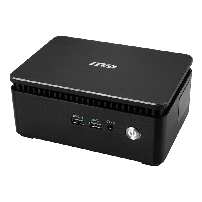 "CUBI3S018US, Intel Pentium 4415U, 2x DDR4 SO-DIMM (4GB pre-installed), M.2 (32GB pre-installed), 2.5"" HDD (500GB 7200RPM HDD pre-installed), Intel HD Graphics 610, Mini PC Barebone"