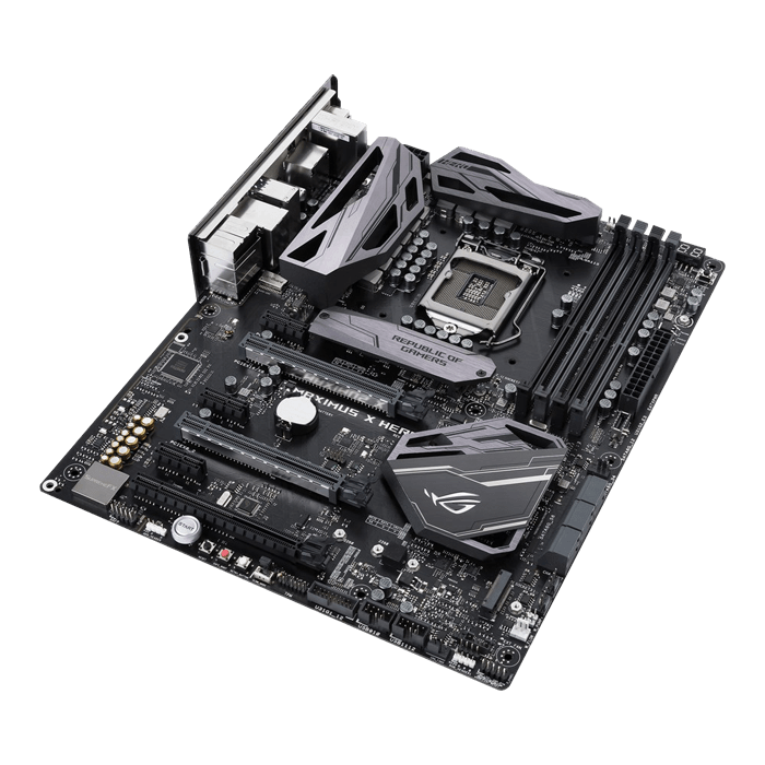 ROG MAXIMUS X HERO, Intel Z370 Chipset, LGA 1151, HDMI, ATX Motherboard