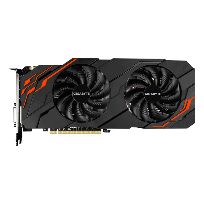 GeForce GTX 1070 Ti WINDFORCE 8G, 1607 - 1721MHz, 8GB GDDR5, Graphics Card