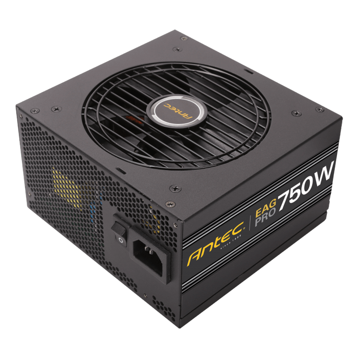 EA750G PRO, 80 PLUS Gold 750W, Semi Modular, ATX Power Supply