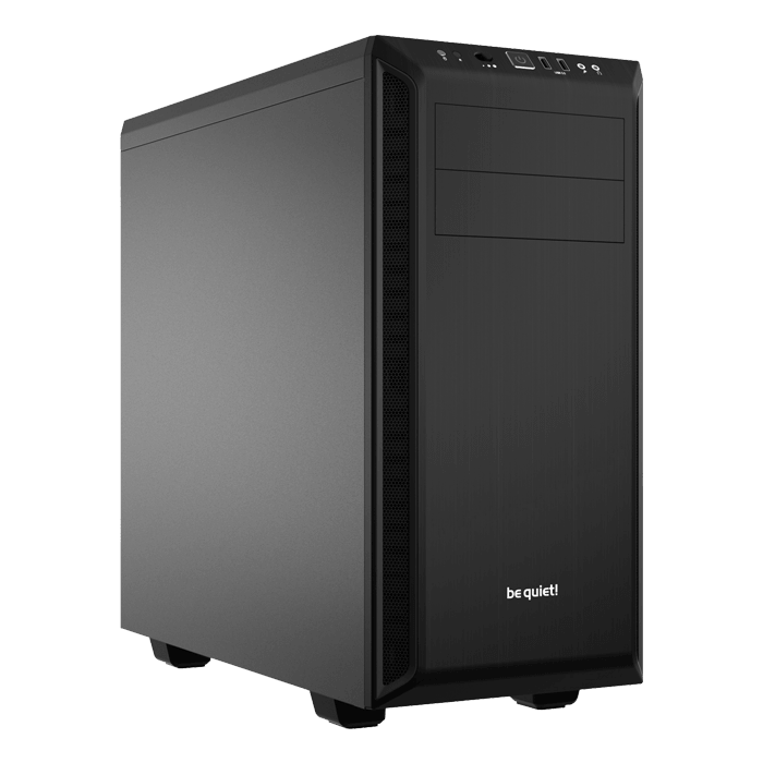Pure Base 600, No PSU, ATX, Black, Mid Tower Case