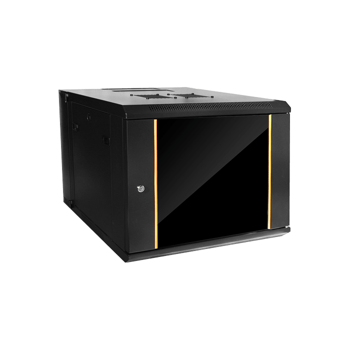 WMZ955-P1U, 9U, 550mm Depth, Swing-out Wallmount Server Cabinet with 1U Cover Plate