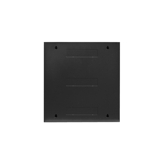 WMZ1255-P2U, 12U, 550mm Depth, Swing-out Wallmount Server Cabinet with 2U Cover Plate