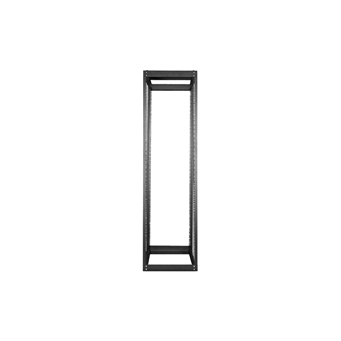 WOR4211-SFH25, 42U, 1100mm, Adjustable Open-frame Server Rack with 1U Supporting Tray