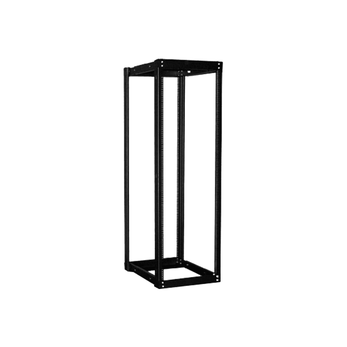 WOR3611-SFR96, 36U, 1100mm, Adjustable Open-frame Server Rack with Heavy Duty Sliding Tray
