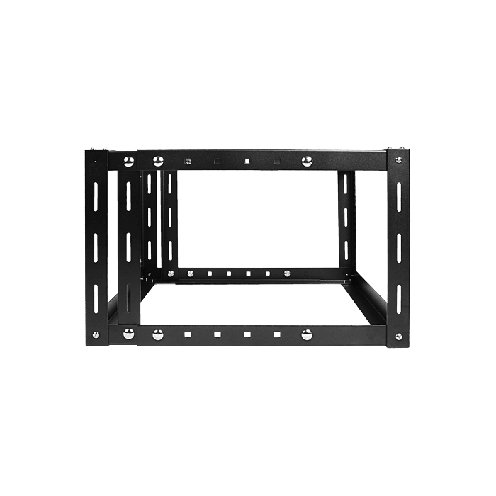 WOM680-SFH40, 6U, 800mm, Adjustable Wallmount Server Cabinet with 2U Supporting Tray