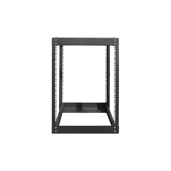 WOR1511-SFH25, 15U, 1100mm, Adjustable Open-frame Server Rack with 1U Supporting Tray