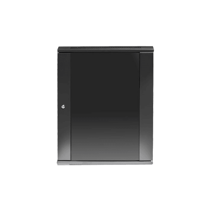 WM1545-P1U, 15U, 450mm Depth, Wallmount Server Cabinet with 1U Cover Plate
