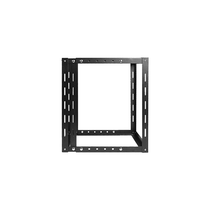 WOM1280-SFH40, 12U, 800mm, Adjustable Wallmount Server Cabinet with 2U Supporting Tray