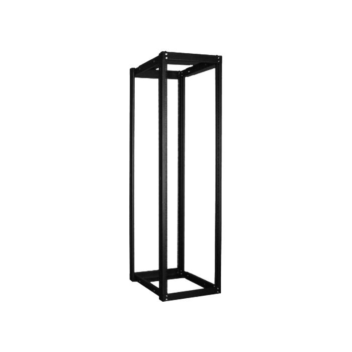 WOR4211-CM2U, 42U, 1100mm, Adjustable Open-frame Server Rack with 2U Cable Management