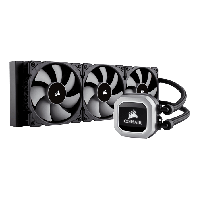 Hydro H150i PRO RGB, 360mm Radiator, Liquid Cooling System