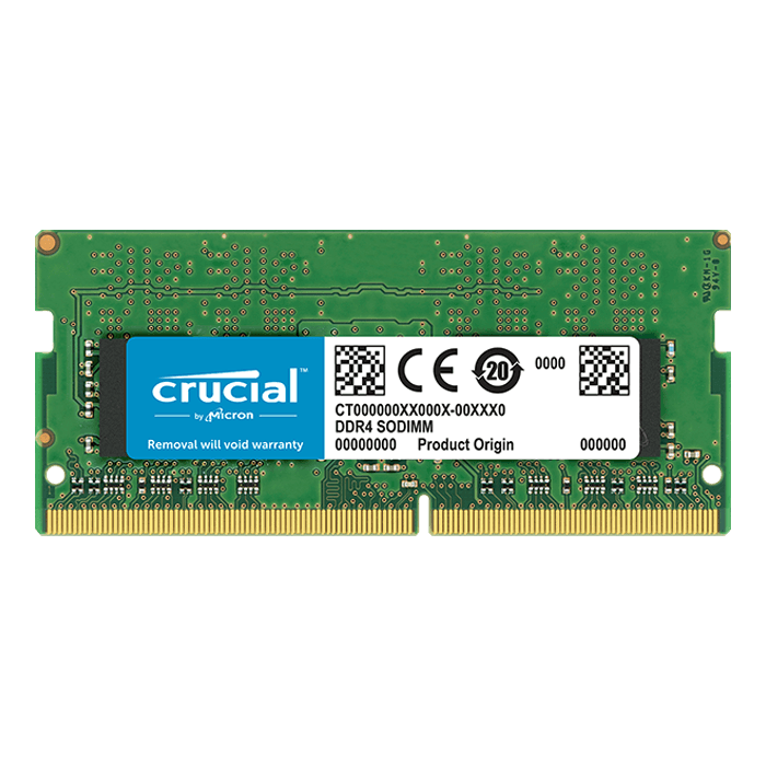 8GB DDR4 2666MHz, CL19, SO-DIMM Memory