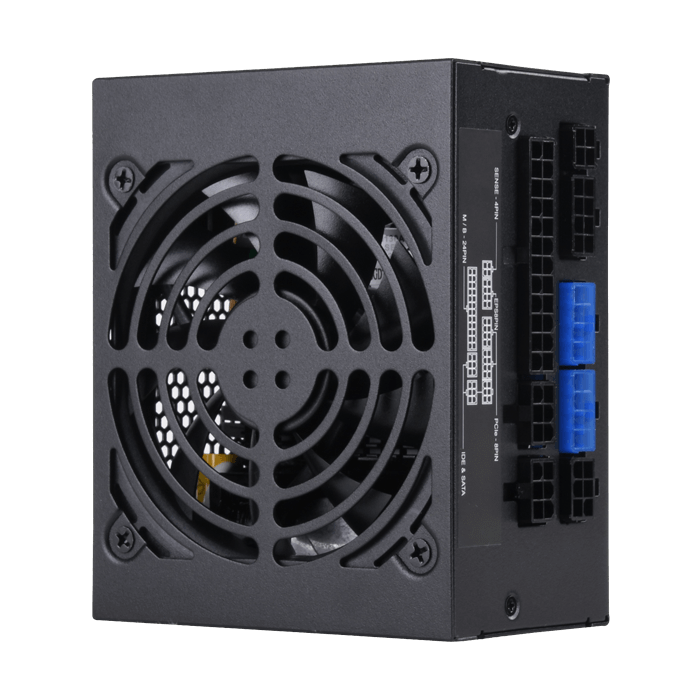 SST-SX500-G, 80 PLUS Gold 500W, Fully Modular, SFX Power Supply