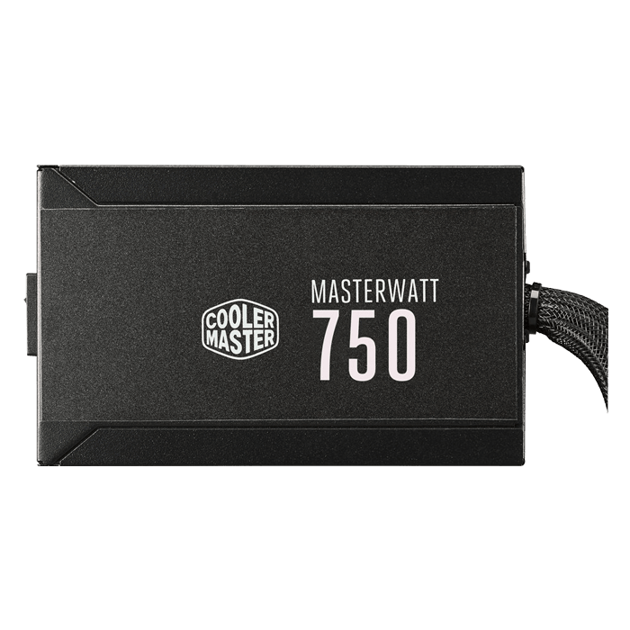 MasterWatt 750, 80 PLUS Bronze 750W, Semi-fanless Modular, ATX Power Supply