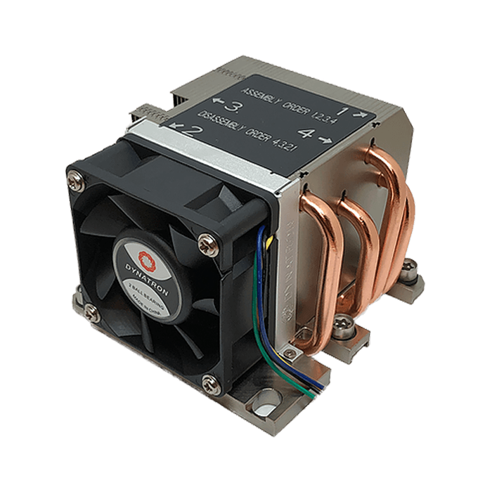 B13 Socket LGA 3647 Square ILM, 66mm Height, 205W TDP, Copper/Aluminum CPU Cooler