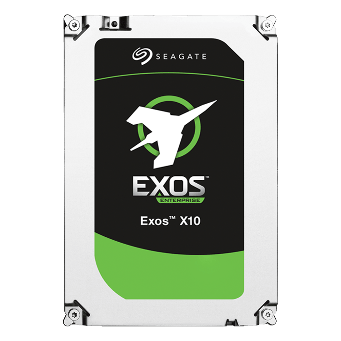 8TB Exos X10 (Helium) ST8000NM0016, 7200 RPM, SATA 6Gb/s (Hyperscale), 512e, 256MB cache, 3.5-Inch HDD