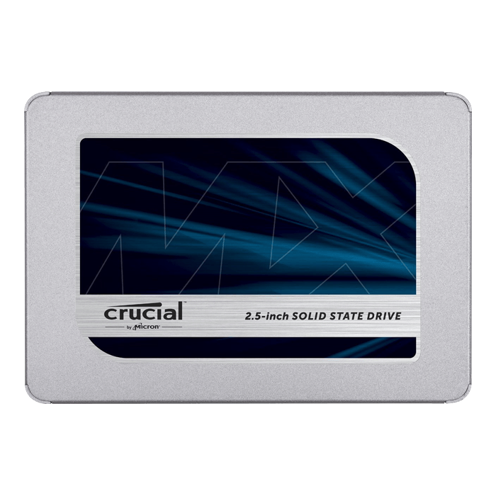 1TB MX500 7mm, 560 / 510 MB/s, 3D NAND, SATA 6Gb/s, 2.5-Inch SSD