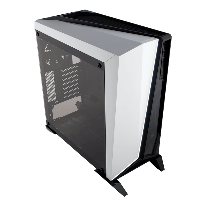 Carbide Series SPEC-OMEGA Tempered Glass, No PSU, ATX, Black/White, Mid Tower Case