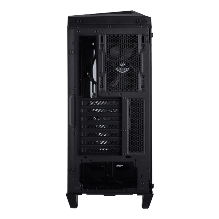 Carbide Series SPEC-OMEGA Tempered Glass, No PSU, ATX, Black, Mid Tower Case