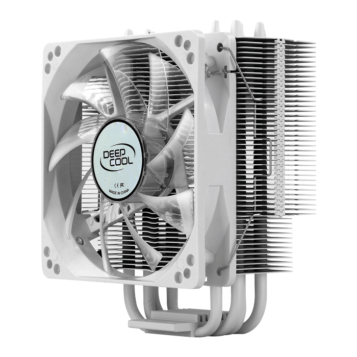 GAMMAXX 400 WHITE, 154.5mm Height, 130W TDP, Copper/Aluminum CPU Cooler