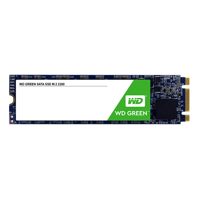 120GB Green 2280, 545 MB/s, SLC, SATA 6Gb/s, M.2 SSD