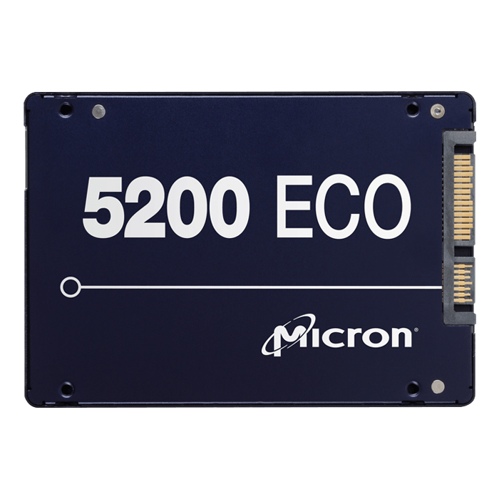 480GB 5200 ECO 7mm, 540 / 385 MB/s, 3D TLC NAND, SATA 6Gb/s, 2.5-Inch SSD
