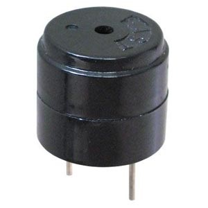 Miniature Piezo Buzzer, 85 dB, 200 ft