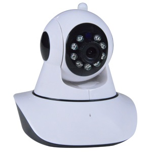 High-Definition Wireless/Wired Day/Night Pan/Tilt IP Camera