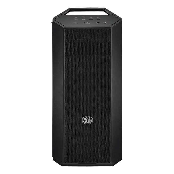 MasterCase MC500 Tempered Glass, No PSU, E-ATX, Black/Grey, Mid Tower Case
