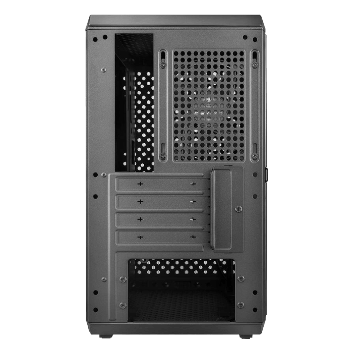 MasterBox Q300L Acrylic Side Panel, No PSU, microATX, Black, Mini Tower Case