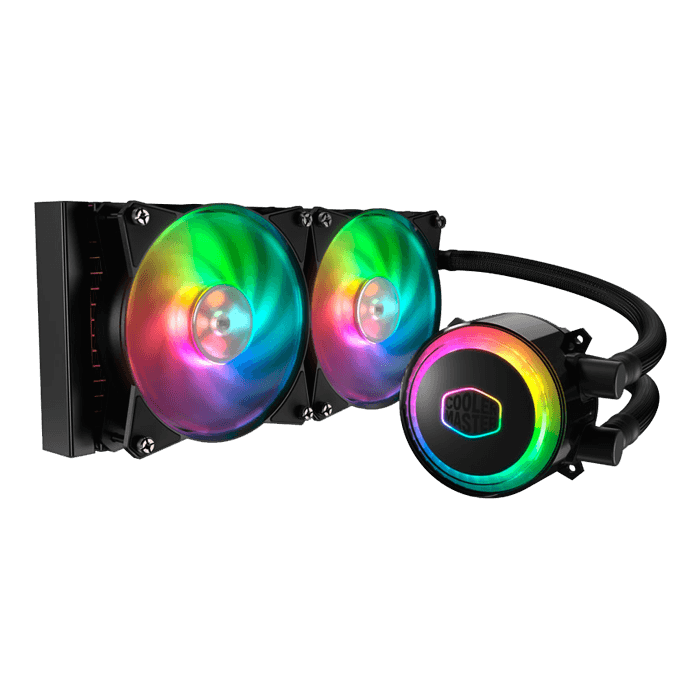 MasterLiquid ML240R RGB, 240mm Radiator, 230W TDP, Liquid Cooling System