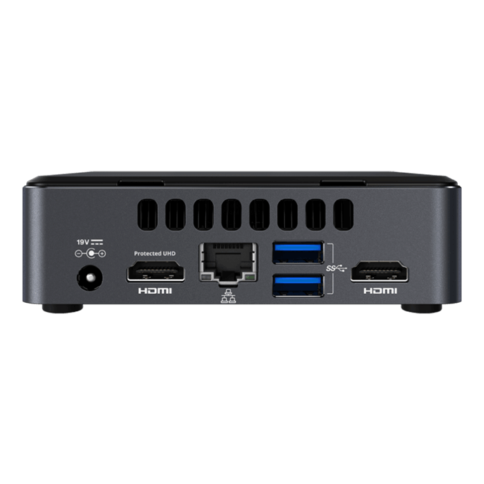 NUC7i7DNKE, Intel Core i7-8650U, 2x DDR4 SO-DIMM, M.2, Intel UHD Graphics 620, Mini PC Barebone