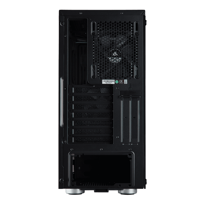 Carbide Series 275R Tempered Glass, No PSU, ATX, Black, Mid Tower Case