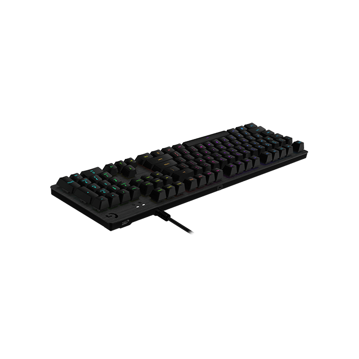 G513, RGB LED, Romer-G Tactile Switches, Wired USB, Black, Mechanical Gaming Keyboard