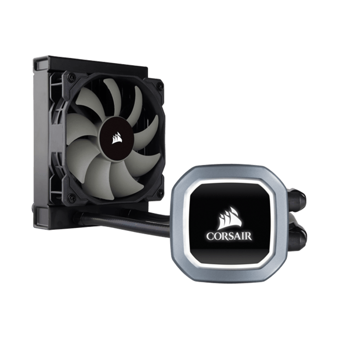 Hydro H60 (2018), 120mm Radiator, Liquid Cooling System