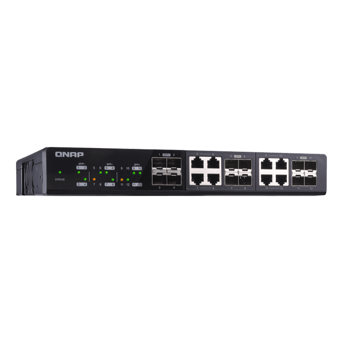 QSW-1208-8C 12-Port Unmanaged 10GbE Switch