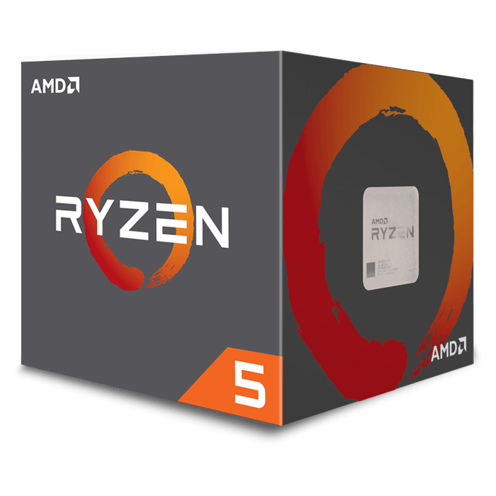 Ryzen™ 5 2600 6-Core 3.4 - 3.9GHz Turbo, AM4, 65W TDP, Retail Processor