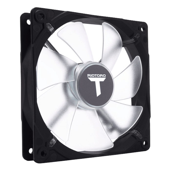 FW120 120mm, White LEDs, 1500 RPM, 47 CFM, 26.5 dBA, Cooling Fan