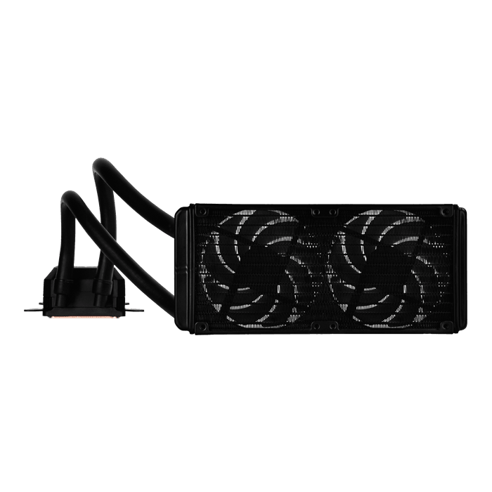 Tundra SST-TD02-SLIM-V2, 240mm Radiator, Liquid Cooling System