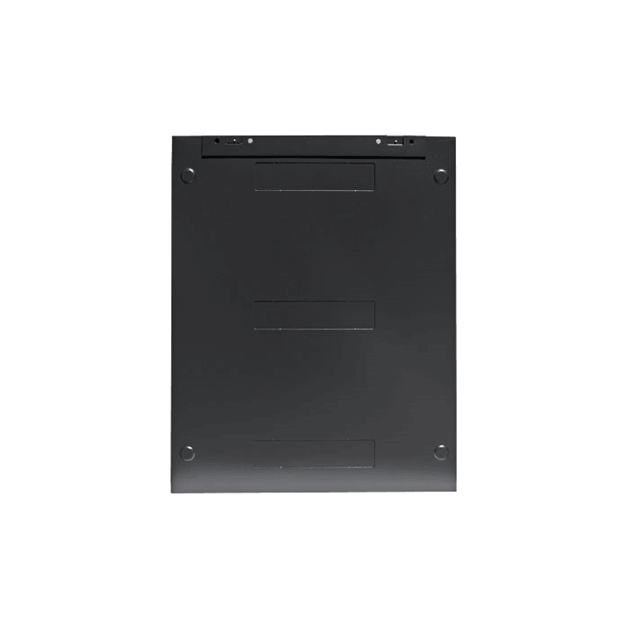 WM1545-P2UMT, 15U, 450mm Depth, Wallmount Server Cabinet with 2U Metallic White Board Panel