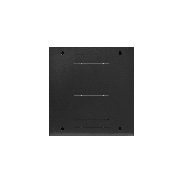 WMZ1255-PP24C6, 12U, 550mm Depth, Swing-out Wallmount Server Cabinet with 1U 24-port Cat6 Patch Panel